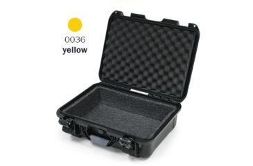 Nanuk 930 Case, Open, Yellow w/ Foam Liner