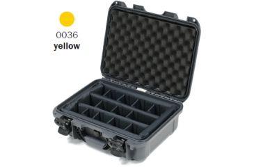Nanuk 930 Case, Open, Yellow w/ Padded Divider