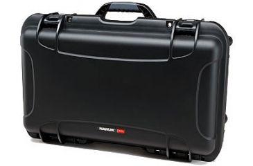 Nanuk 935 Hard Plastic Waterproof Case, Black w/ 4 Part Foam Insert 935-1001