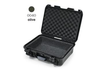 Nanuk 940 Case, Open, Olive w/ Foam Liner