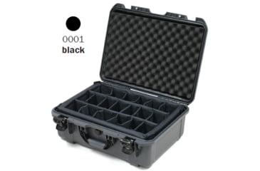 Nanuk 940 Case, Open, Black w/ Padded Divider