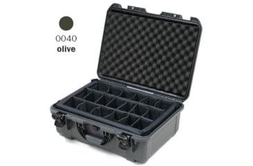 Nanuk 940 Case, Open, Olive w/ Padded Divider