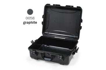 Nanuk 945 Case, Empty, Open, Graphite