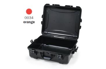 Nanuk 945 Case, Empty, Open, Orange