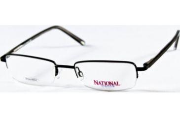 National NA0049 Eyeglass Frames - Matte Black Frame Color