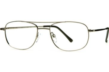 National NA0077 Eyeglass Frames - Shiny Gun Metal Frame Color