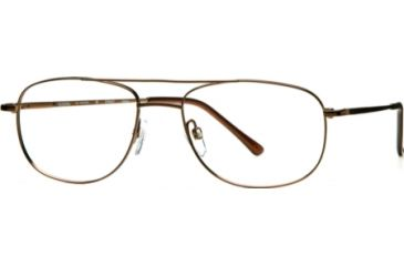 National NA0077 Eyeglass Frames - Shiny Dark Brown Frame Color