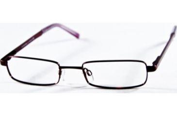 National NA0099 Eyeglass Frames - Shiny Bordeaux Frame Color