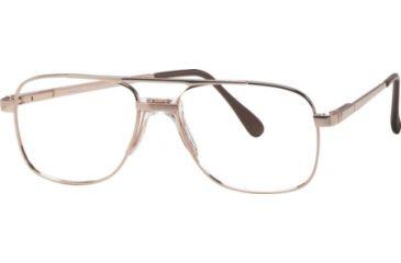 National NA0108 Eyeglass Frames - Gold Frame Color