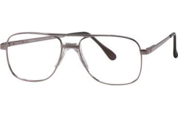 National NA0108 Eyeglass Frames - Shiny Gun Metal Frame Color