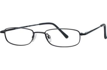 National NA0212 Eyeglass Frames - Black Frame Color