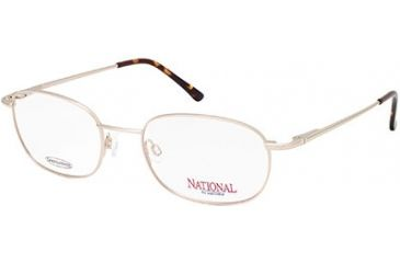 National NA0304 Eyeglass Frames - Gold Frame Color