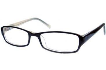 National NA0306 Eyeglass Frames - Black Frame Color