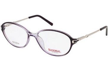 National NA0307 Eyeglass Frames - Grey Frame Color