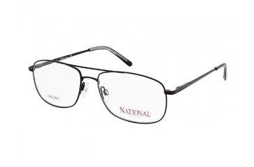 National NA0320 Eyeglass Frames - Matte Black Frame Color