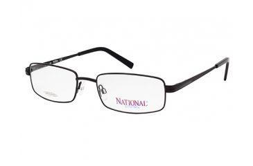 National NA0323 Eyeglass Frames - Matte Black Frame Color