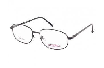 National NA0328 Eyeglass Frames - Matte Black Frame Color