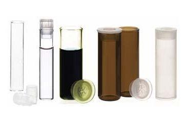 National Scientific Shell Vials, National Scientific C4008-50 Vials Clear Vials