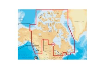 Navionics Gold Canada and Southeast Alaska Digital Marine Map MSD2XG