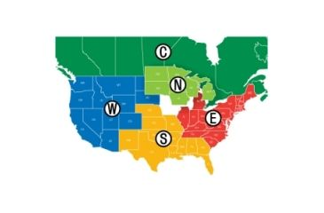 Navionics HotMaps Premium West Lakes USA Marine Digital Map MSDPREMW6