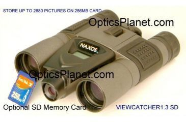 Naxos 8x30 Binoculars with SD-slot / 1.3 Mega Pixel ViewCatcher Digital Camera