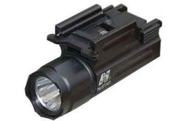 NC Star AQPTF LED Flashlight for Pistols/Rifles w/ Weaver Style Mount and Quick Release