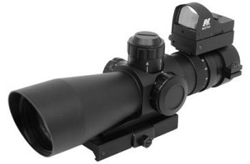 2-NC Star Mark III Tactical Series 3942G 3-9X42 Compact Riflescopes w/ Fully Multi Coated Lenses for Weaver/Picatinny