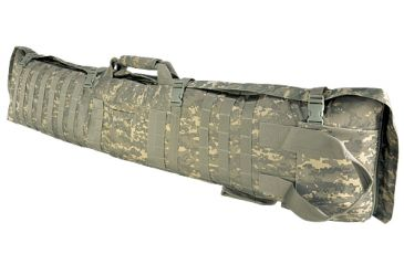 NcStar 48in Soft Rifle Case/Shooting Mat w/ PALS Webbing - Digital Camo ACU CVSM2913D
