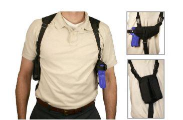 NCSTAR Black Gun Shoulder Holster