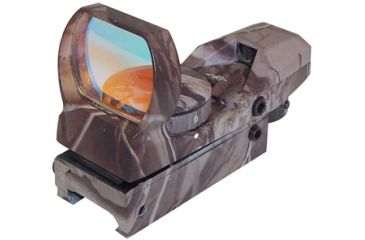 NcSTAR Camo Tactical Red Dot Sight With 4 Different Reticles D4C