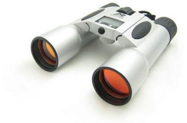 NcSTAR Compact Binocular - 12x32 Binoculars With Digital Clock / Timer / Temp / Ruby Lens BS1232R