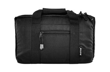 NcStar Discreet Pistol Soft Case, Black w/ Two Compartments CPB2903
