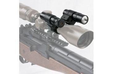 NcSTAR Flashlight & Green Laser Combo - In Use ASFLG1