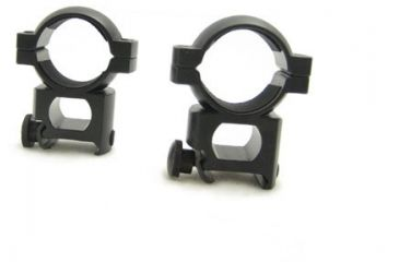 NcSTAR Scope Ring - 1'' Weaver Ring / Black RB11