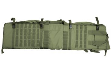 NcStar 48in Soft Rifle Case/Shooting Mat w/ PALS Webbing - Green CVSM2913G