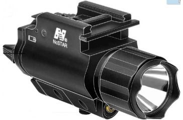 NcSTAR Tactical Green Laser Sight & 3W 150 Lumen Led Flashlight With Weaver Quick Release AQPFLSG