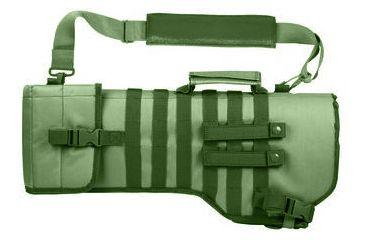 Ncstar Tactical Rifle Gun Case/Weapon Scabbard - Green CVRSCB2919G