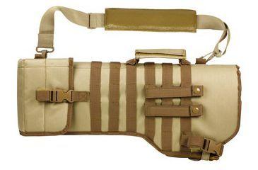 Ncstar Tactical Rifle Gun Case/Scabbard-Tan CVRSCB2919T