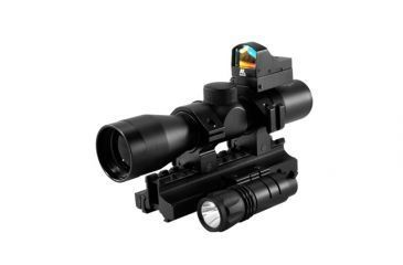 NCSTAR Riflescope Triple Threat Kit