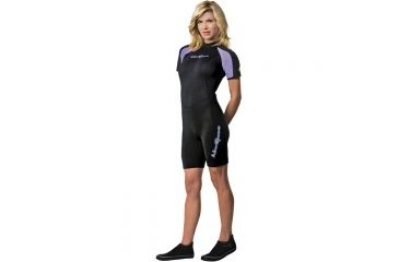 Neosport 2mm Shorty Women's Pur/blk 6 S620WB-51-6