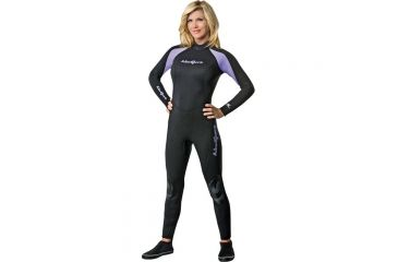 Neosport 3/2mm Wetsuit Womens Pur/blk 6 S832WB-51-6
