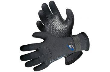 Neosport 3mm Velcro Glove Blk Lg SG30V LRG BLK