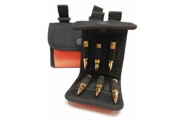 Neverlost Cartridge Pocket Rifle, Holds 20, Black/Orange 8041