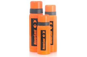 Neverlost Thermos .75L, Black/Orange 6138