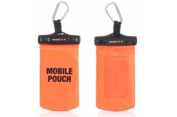 Neverlost Waterproof Mobile Pouch, Black/Orange 7003
