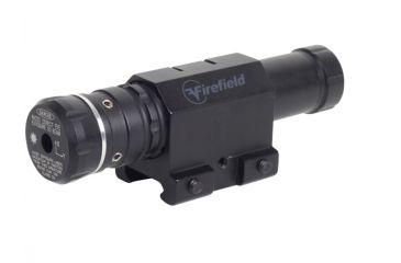 New Fire Field Shockproof Rifle Barrel Mount Green Laser Sight, Black GLS-FF13036K