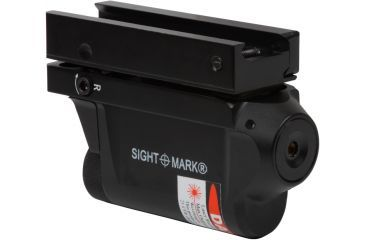 New Sightmark 3-5mW Green Laser Designator Sight, Black w/ Integrated Weaver Mount