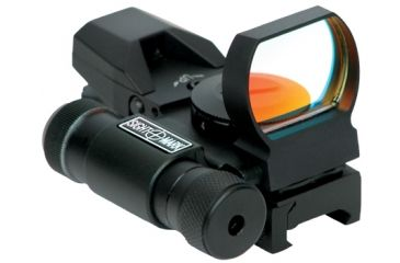 New Sightmark Laser Dual Shot Reflex Sight - Multi Reticle, Matte SM13002