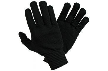 Newberry Knitting Polypro Glove Liner M-ladies VV LADIES BLACK