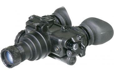 NG PVS7 QS MG Gen 2Plus Night Vision Goggles Quick Silver White Phosphor with Manual Gain, Black NGPVS72QSM